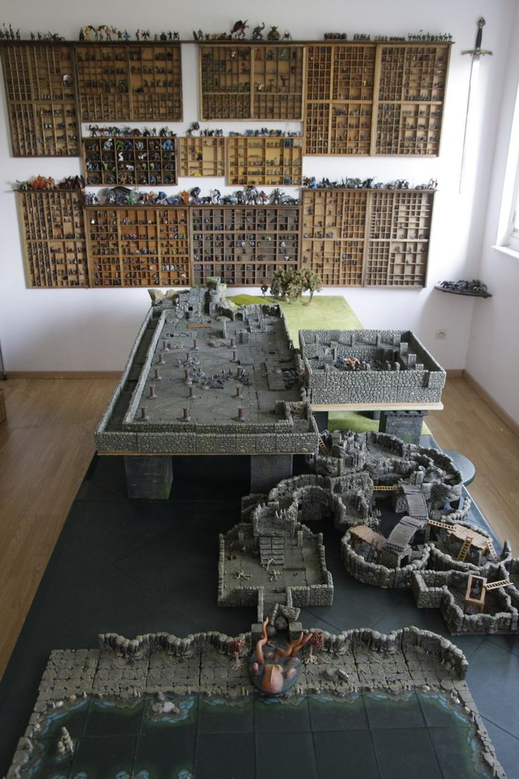 Sélection de mes plus belles tab. I like how they did the raised castle atop the dungeon.