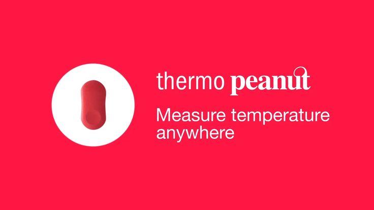 Le capteur thermo Peanut mesure la température ambiante et vous alerte lorsqu'il fait trop chaud ou trop froid. De nombreuses utilisations sont possibles…