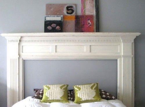Best 20+ Mantle headboard ideas on Pinterest | Fireplace mantle ...