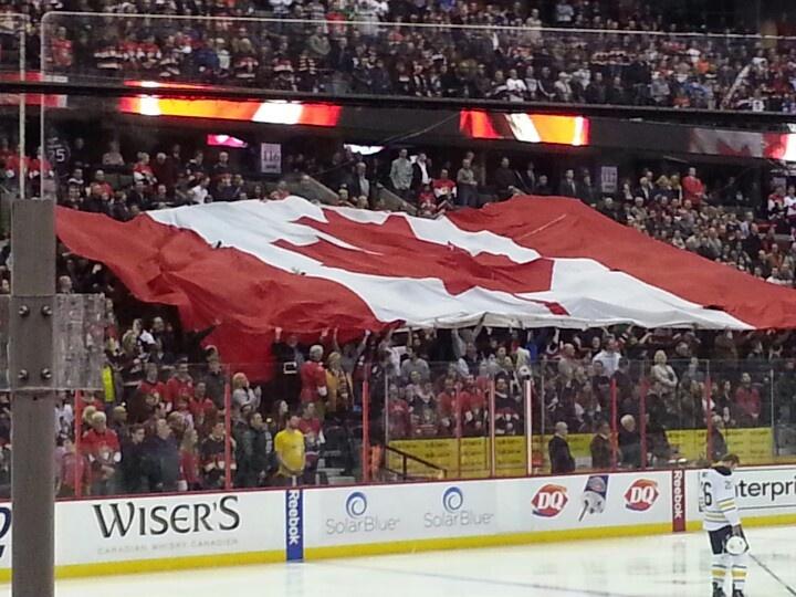 Ottawa Senators game.