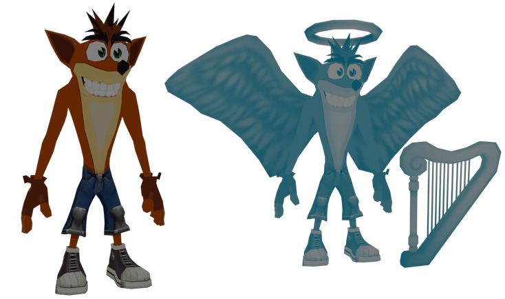 Crash Bandicoot from Crash Twinsanity Includes Angel Crash Model by Traveler's Tales Ripped and fixed by me You can get it here www.dropbox.com/s/zfp6poxqsqz0…