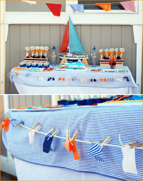 Like the pennant flags. We can hang a string of flags from the backyard overhang.