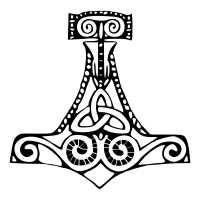 Tatuaggio di Mjolnir, Protezione tattoo - TattooTribes.com