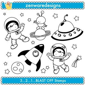 space digi stamps