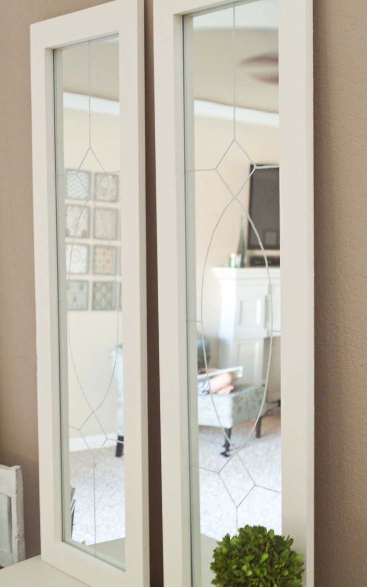 Diy Knock Off Shelves: Made From $5 Target Mirrors :) This Photo Is My DIY-Knock