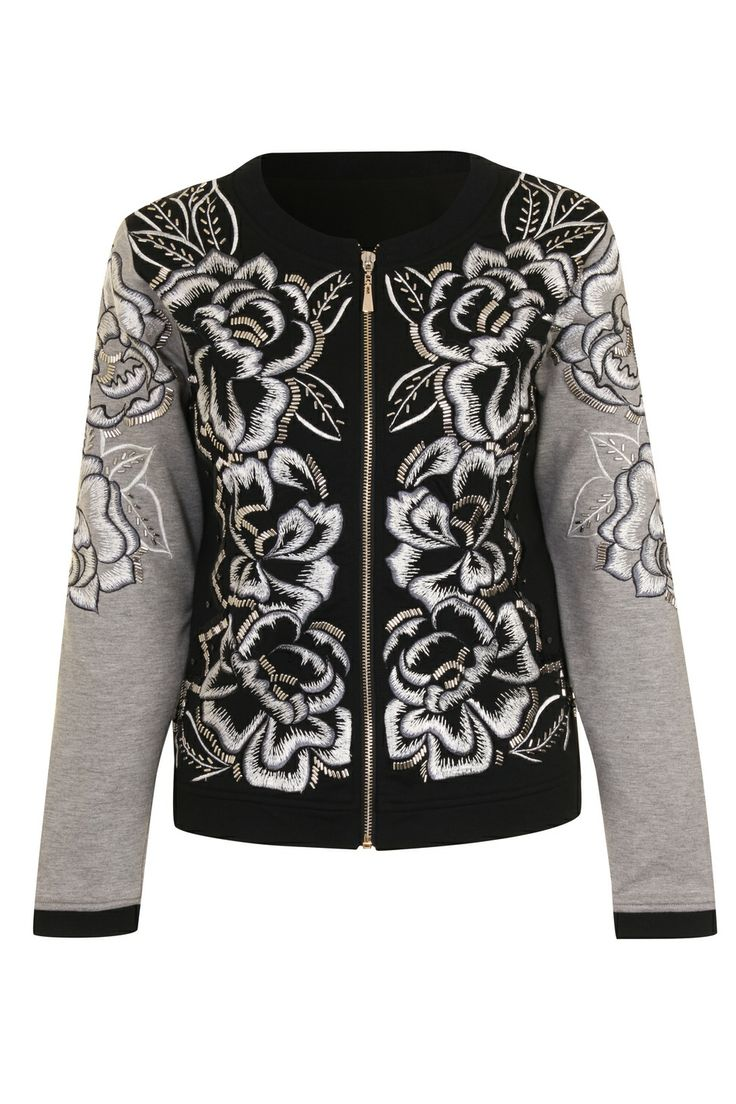 AnhHa Ace Short Bomber Jacket at Coggles