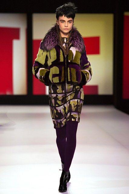 Jean Paul Gaultier - www.vogue.co.uk/fashion/autumn-winter-2013/ready-to-wear/jean-paul-gaultier/full-length-photos/gallery/948264