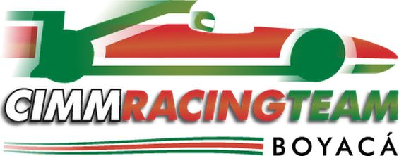 Logotipo CIMM RACING TEAM Regional Boyacá