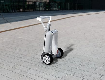 MUV-e's Folding Electric Trolley Goes from Land to Bus to Train | Green Prophet