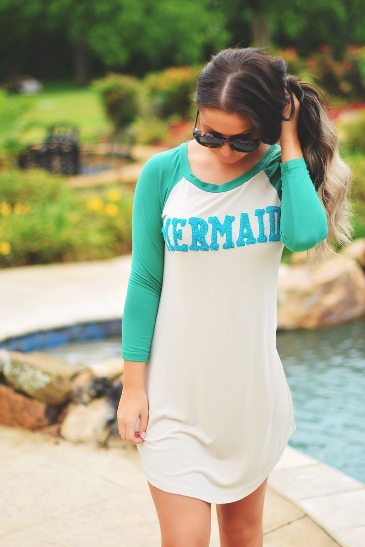 JUDITH MARCH Mermaid Tee Dress