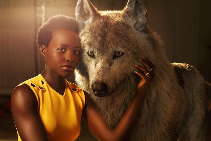 "Disney's The Jungle Book on Instagram: ""Lupita Nyong'o voices Raksha, a mother wolf who cares deeply for all of her pups–including man-cub Mowgli, whom she adopts as one of her own when he's abandoned in the jungle as an infant. ""She is the protector, the  eternal mother,"" says Nyong'o. ""The word Raksha actually means protection in Hindi. I felt really connected to that, wanting to protect a son that isn't originally hers but one she's taken for her own.""  #JungleBook"""