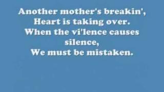 The Cranberries - Zombie (Lyrics), via YouTube.