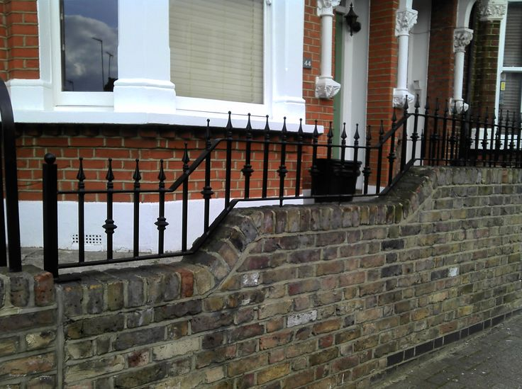 Installation of our RSG4200 Railings in South West London.