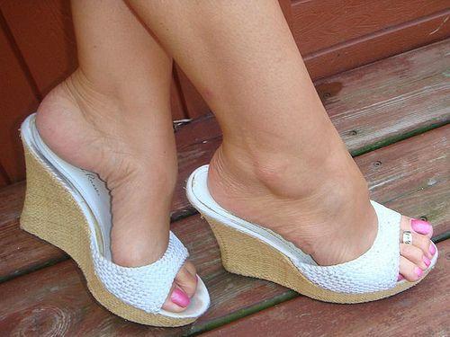sexy wedge shoe