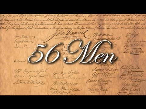 The Declaration of Independence ! Our Lives, Our Fortunes, and Our Sacred Honor ! - YouTube