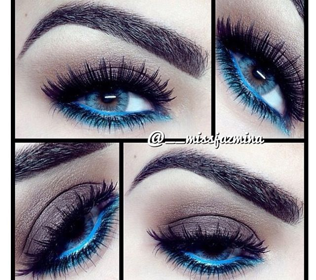 Oh love the blue liner