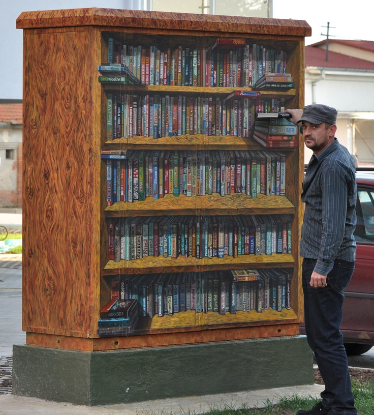 Library painted