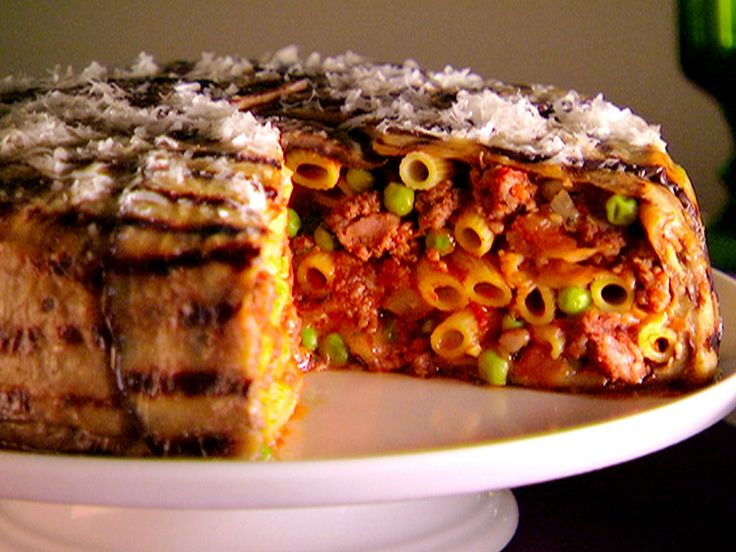 Eggplant Timbale recipe from Giada DeLaurentiis of Everyday Italian. 5 of 5 Stars, 122 Reviews | Food Network