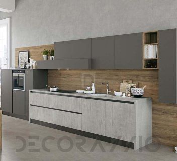 #kitchen #design #interior #furniture #furnishings  комплект в кухню Arredo3 Kali, AK5LC