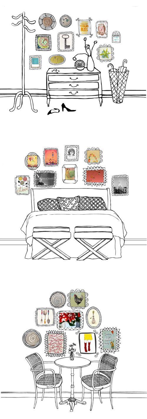 illustrations...arrangement