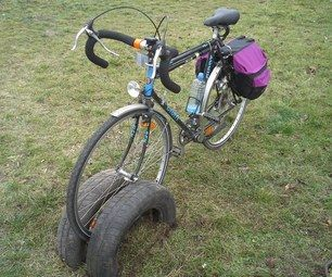 http://www.instructables.com/id/Bicycle-rack-made-out-of-old-car-tyres/