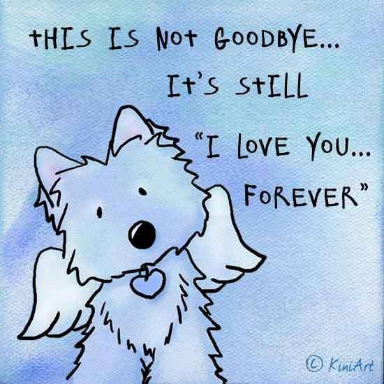 """Art Drawing: This is not goodbye.... It's still """"I Love you...Forever"""" by Artist Kim Niles ♥"""