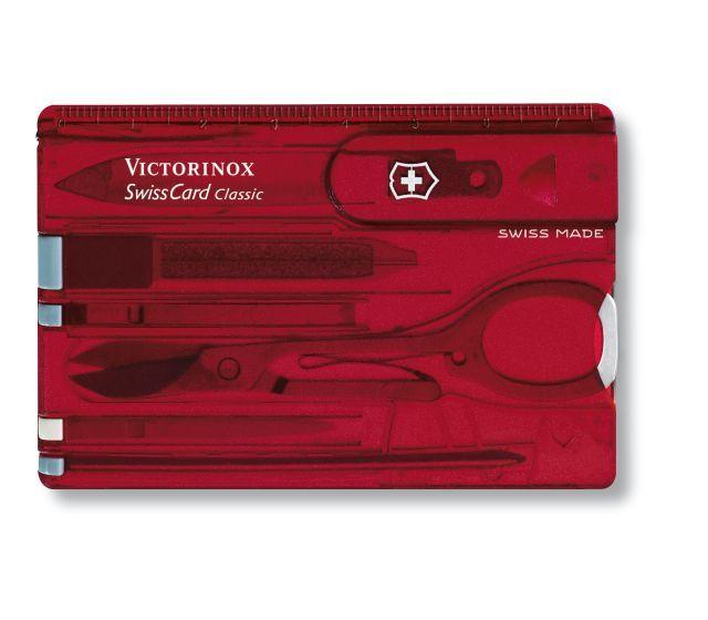 Unbedingt anschauenSwissCard Classic Victorinox classic