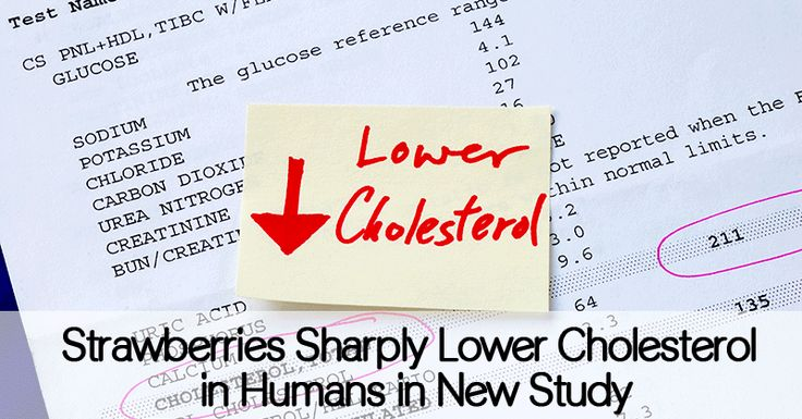 Strawberries Sharply Lower Cholesterol in Humans in New Study - Healthy Holistic Living