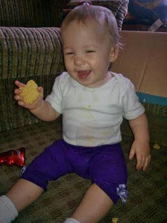 Ania mama Agnieszki: ciasteczka marchewkowe (po 8 miesiącu)