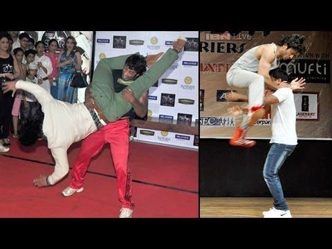 Vidyut Jamwal Teaching Self Defense To Young College Girls - YouTube