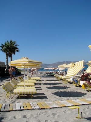 The Lambi beach in Kos Town  http://www.discoveringkos.com/