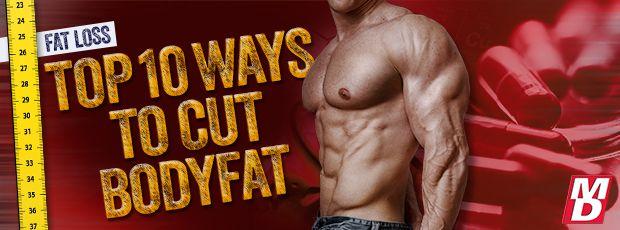 Top 10 Proven Ways to Cut Body Fat   Muscular Development