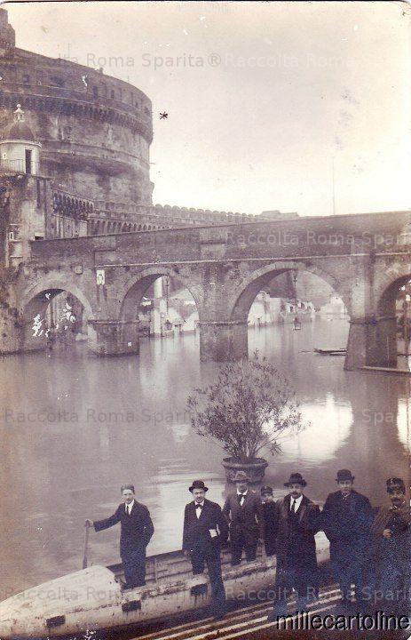 Castel Sant'Angelo INONDAZIONE 15 FEBBRAIO 1915