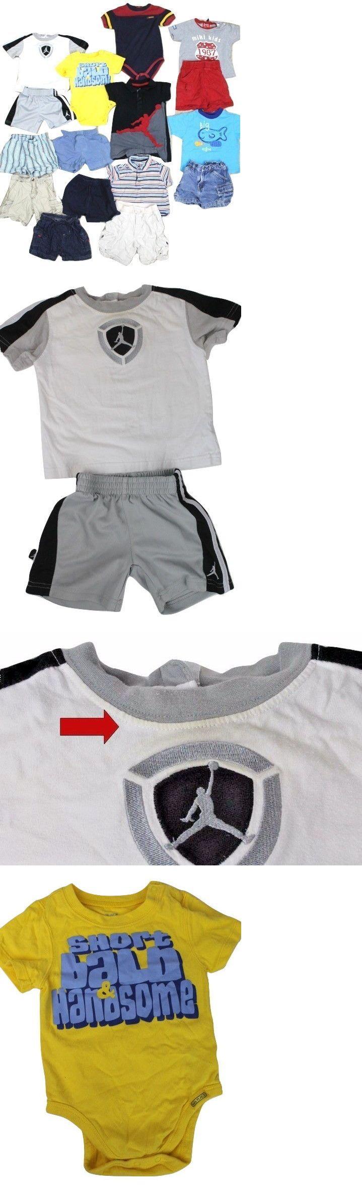 Michael Jordan Baby Clothing: Boys Baby 16 Pc Lot Michael Jordan Childrens Place Gap Summer 12-18 Months -> BUY IT NOW ONLY: $44 on eBay!