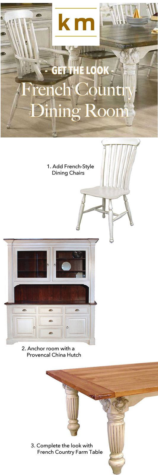 66 best images about French Country Dining Tables on Pinterest
