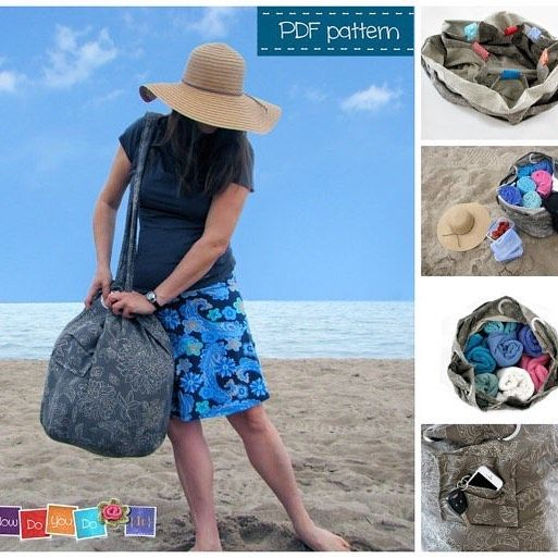 Beach Bag - PDF Sewing Pattern - Instant Download PDF - Tote Bag Pattern - Step by Step Photo Tutorial - Easy Sewing Pattern - Family Size #easysewingproject #sewingforbeginners #HowDoYouDoIt #sewing #sewingpdfpattern #howtomakeabag#sewingmama #diygiftforher #easysewing #phototutorial #sewingpattern #sewingprojects #sewingprojects #sewingbag #summersewing #beachbag #totebag #totebagsewingpattern #totebaghandmade #diybeachbag #beachbagdiy #sew #sewingproject #tote #isew #shoulderbag…