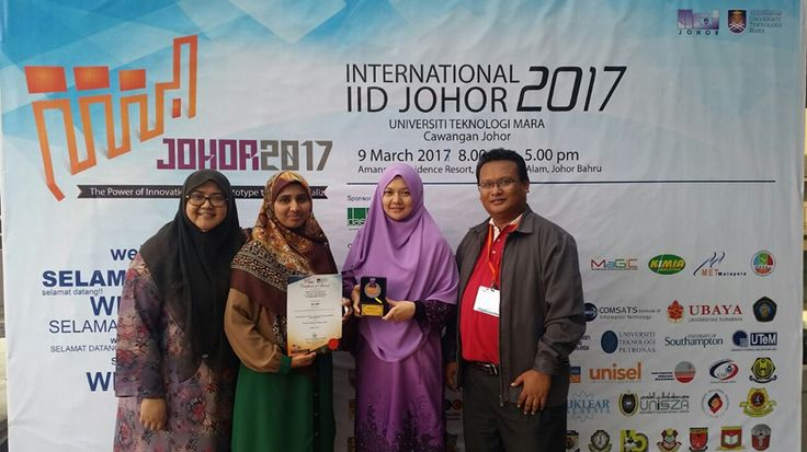 FBE Won Silver Medal Award at Invention, Innovation and Design (IID) | Photos