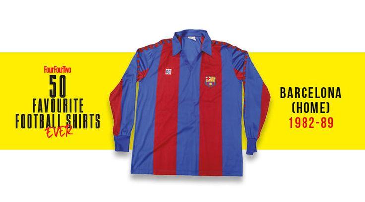Quais são as 50 melhores camisas de futebol de todos os tempos? A revista Four Four Two se uniu ao crítico Neal Heard e elencou alguns clássicos. Confira!