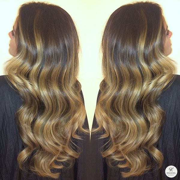 She uses many techniques such as balayage, free painting and face framing (to name a few) to create such beautiful pieces of art on her lovely clients' hair. My hair for example is a custom blend of colours and shades to create that perfect, grown out, sombré/fondré look