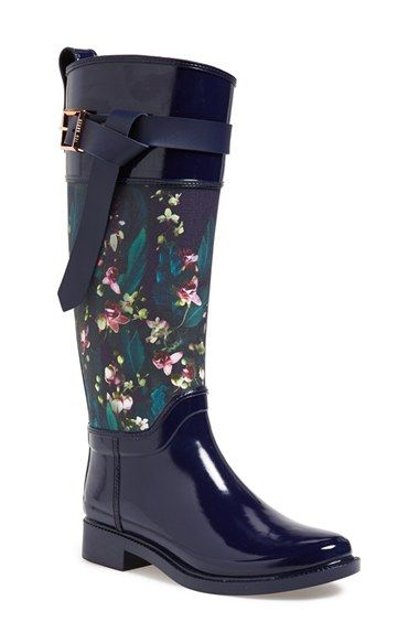 Ted Baker London 'Hampto' Waterproof Rain Boot (Women) available at #Nordstrom