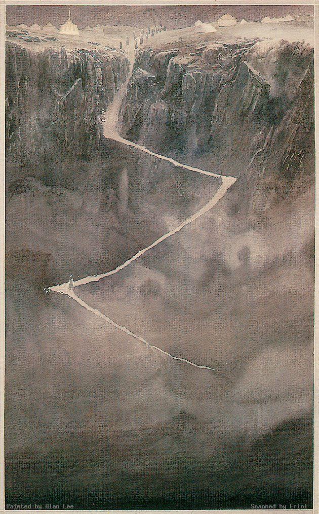 The Path of the Dead - Alan Lee                                                                                                                                                                                 Más