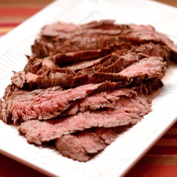 Sundried Tomato Rosemary Balsamic Marinated Flank Steak