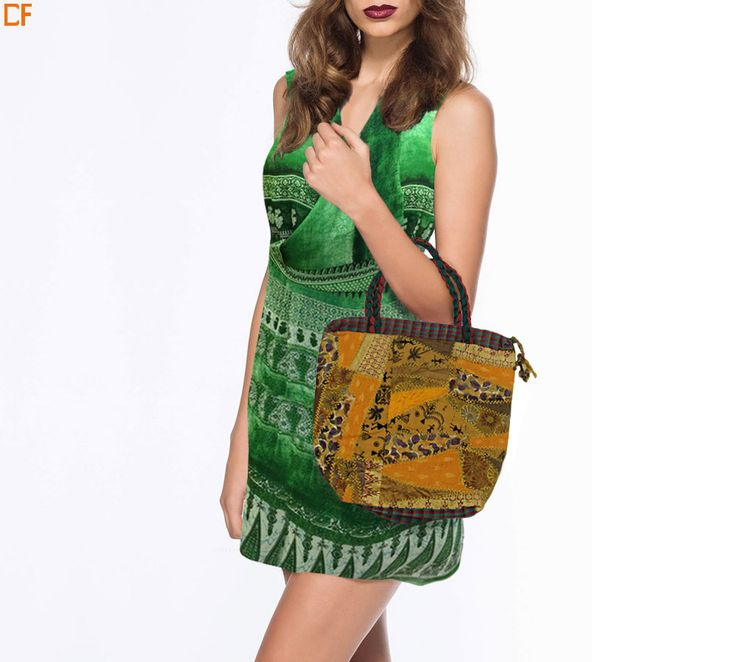 Look cool as a cucumber this summer. Team up your look with a kitch bag. To shop, visit us on http://www.droomfashion.com/