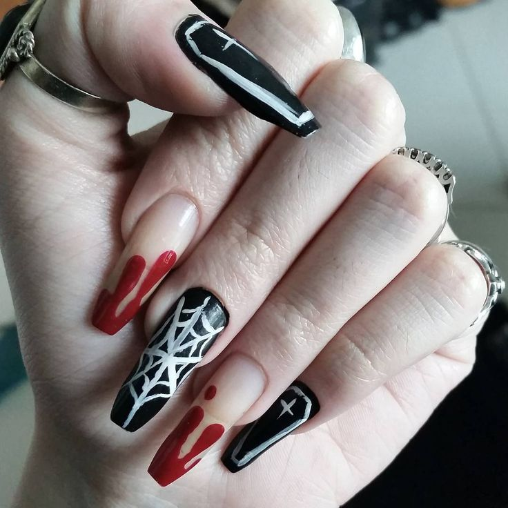 Creepy Cool Nail Art