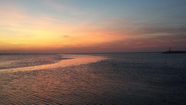 i colori del tramonto the colors of the sunset #tramonto #sunset #rimini