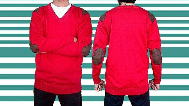 sweater rajut elbow