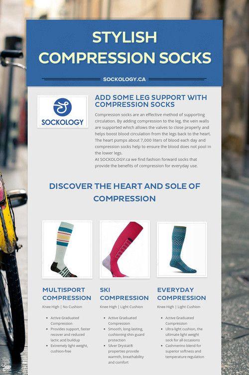 Stylish Compression Socks