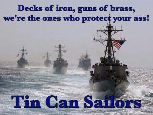 .Proud of our Navy Destroyer Family