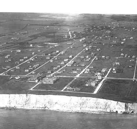 Aerial view of Peacehaven