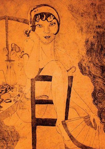 Burlesque-taidejuliste